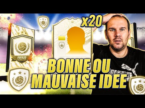 JE DOIS DISCARD UNE CARTE A 1M DE CREDITS ! 17 PACKS ICONE PRIME MOMENTS ! FIFA 20