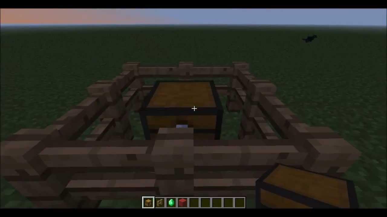 Minecraft Dorfbewohner Handel ändern YouTube - Minecraft dorfbewohner bauen hauser mod
