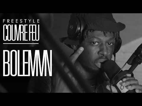 BOLEMVN - Freestyle COUVRE FEU sur OKLM Radio
