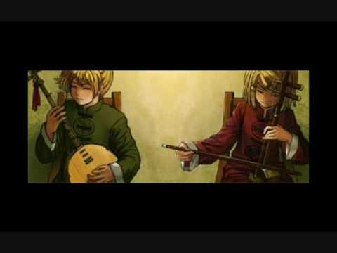 Spinning Song - Kagamine Rin & Len - 紡唄 -つむぎうた- (instrumental)