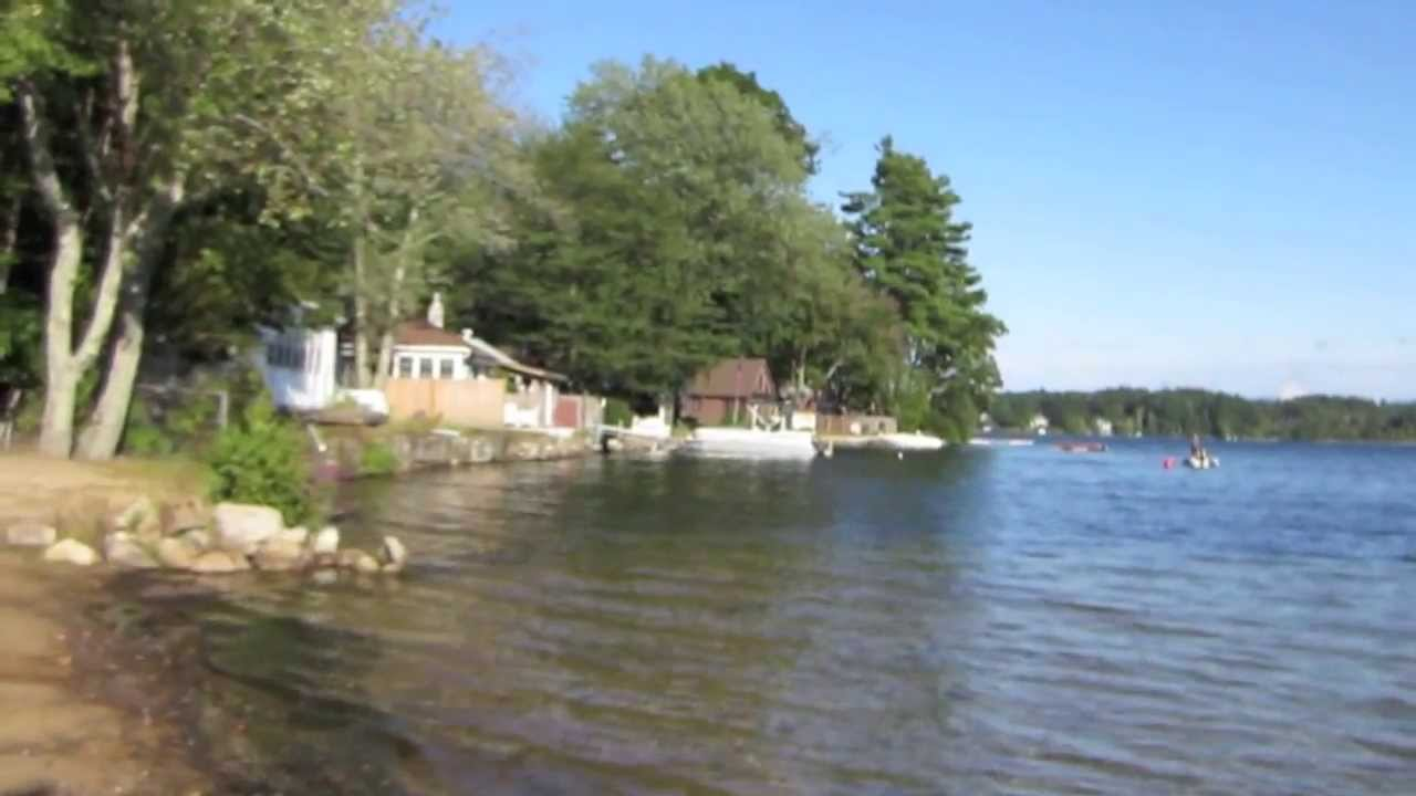 house by the lake in the arctic circle stock footage video 19226926