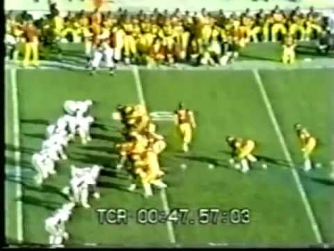 1972 USC Football Highlights vs. Ohio State - national championship - January 1, 1973 Rose Bowl