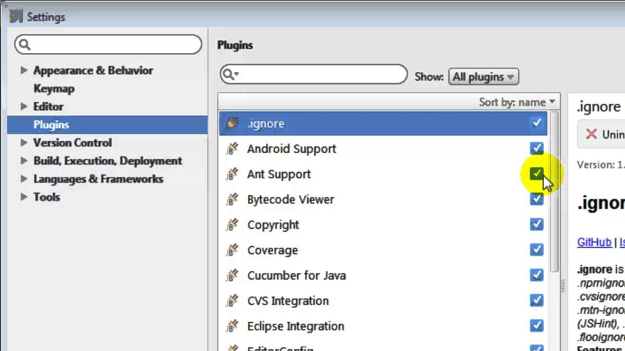 How to open plugin manager in intellij IDEA