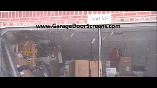 Garage Door Screens..made In Michigan Prices Start At $80 For A No Zipper Model