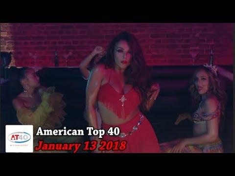 American Top 40 ~ January 13, 2018