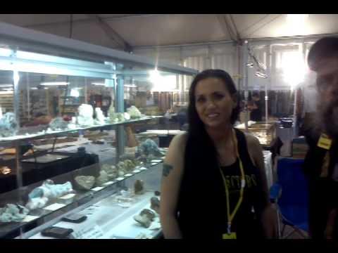 Prospector Amanda Adkins  w/  Tucson Gem Show Directory 2014
