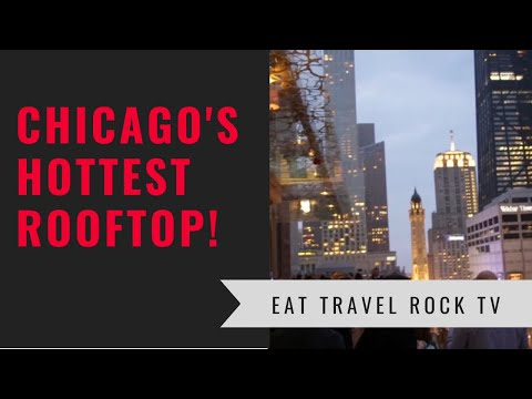 Chicago's Best New Rooftop!  Z Bar At The Peninsula Chicago