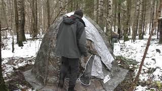 Тест палатки Берег УП2 Мини, от незаинетерисованного человека