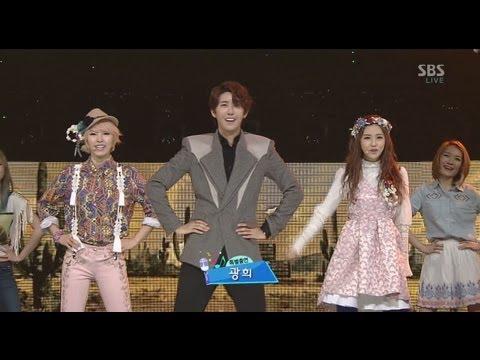 투윤 (2YOON) [24/7 (특별출연 황광희)] @SBS Inkigayo 인기가요 20130203