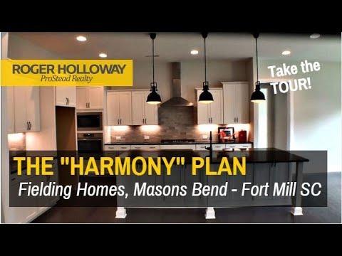 Fielding Homes HARMONY Plan In Masons Bend - Fort Mill SC