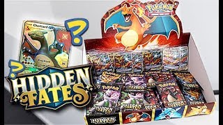 109 *HIDDEN FATES* Pokemon Booster Pack Opening!!!!