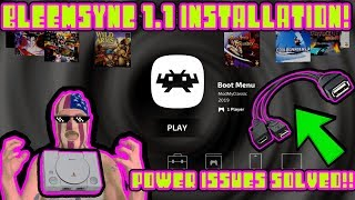 Playstation Classic BleemSync 1.1 Installion! POWER ISSUES FIXED! OTG SUPPORT + MORE!