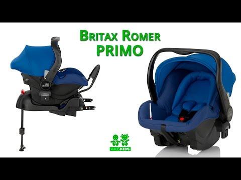 Обзор автокресла Britax Romer PRIMO  и инструкция по установке.