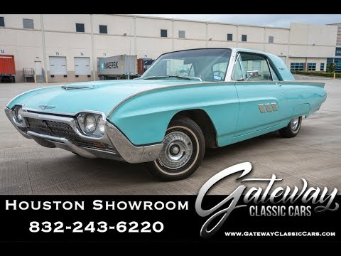 1963 Ford Thunderbird Gateway Classic Cars #1485 Houston Showroom