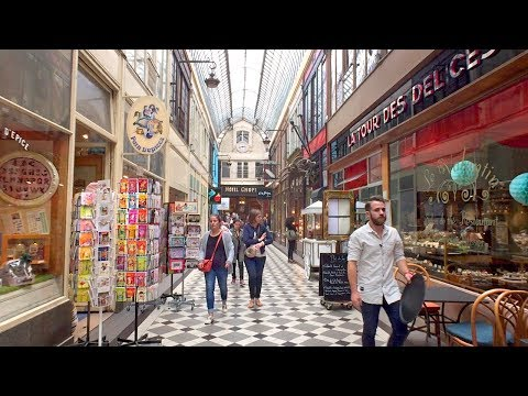 Walking Paris's Famous Shopping Arcades: Jouffroy, Verdeau and Panoramas