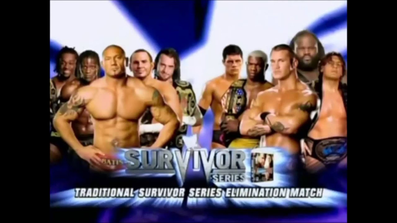 WWE Survivor Series 2008 Review - YouTube