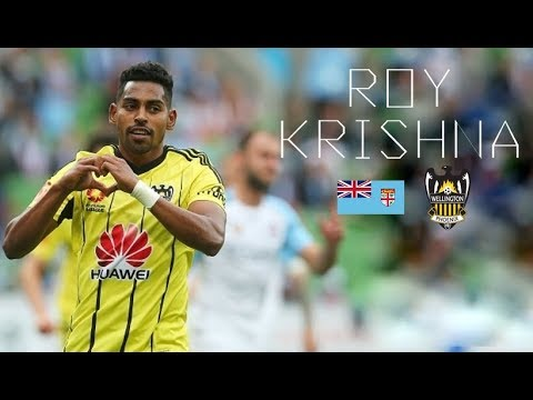 ROY KRISHNA - Goals, Skills, Assists - Wellington Phoenix & Fiji - 2017