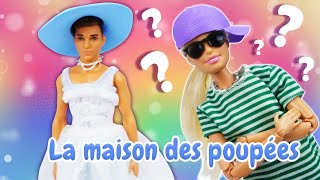 Le rendez-vous étrange de Barbie et Ken. Est-ce que Barbie plaît à Ken? Vidéo en français.