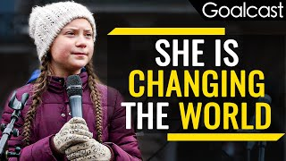 Greta Thunberg  | A Young Protester Changing The World | Inspiring Women of Goalcast