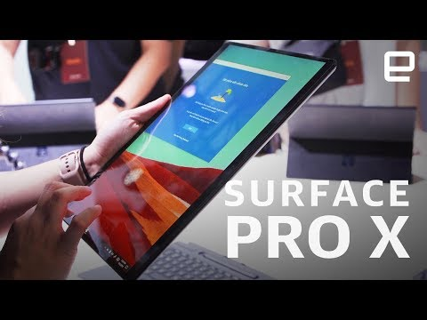 Microsoft Surface Pro X Hands-on: ARM powered Windows