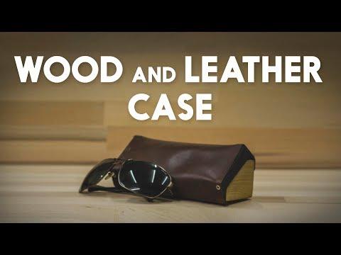 MazingDIY: Wood And Leather Case