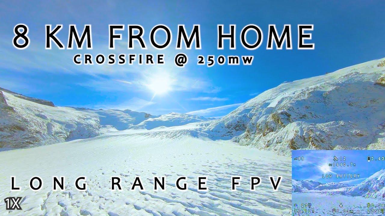 Resultado de imagem para 8km From Home w/ TBS CROSSFIRE - Uncut 2.7k Long Range FPV Flight With DVR - Long Range Freedom II