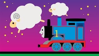 Thomas the Train Lullaby - Baby relax counting sheep 34 Minutes  トーマス תומס הקטר