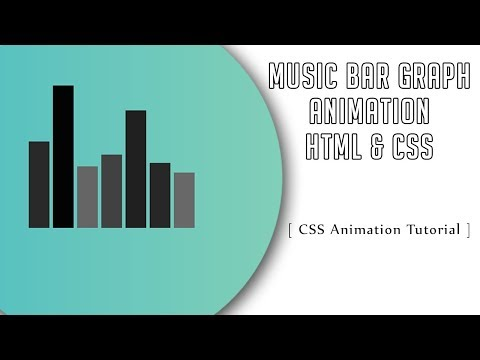 Music Line Graph Animation With Html And Css | CSS3 Animation Tutorial