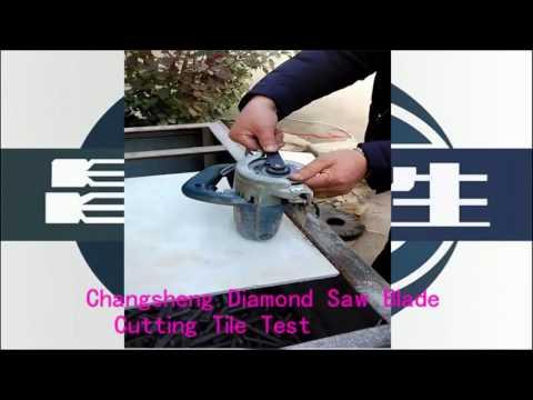 Turbo Diamond Saw Blade for Ceramic Tiles