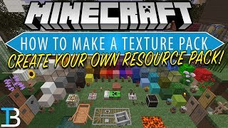 How To Make A Resource Pack in Minecraft (Complete Guide to Making a Minecraft Texture Pack!)