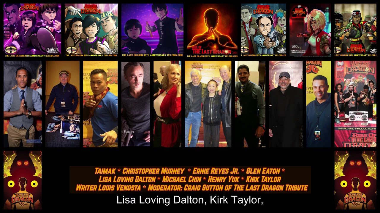 Download The Last Dragon 35th Anniversary Virtual Watch Party & Cast Reunion
