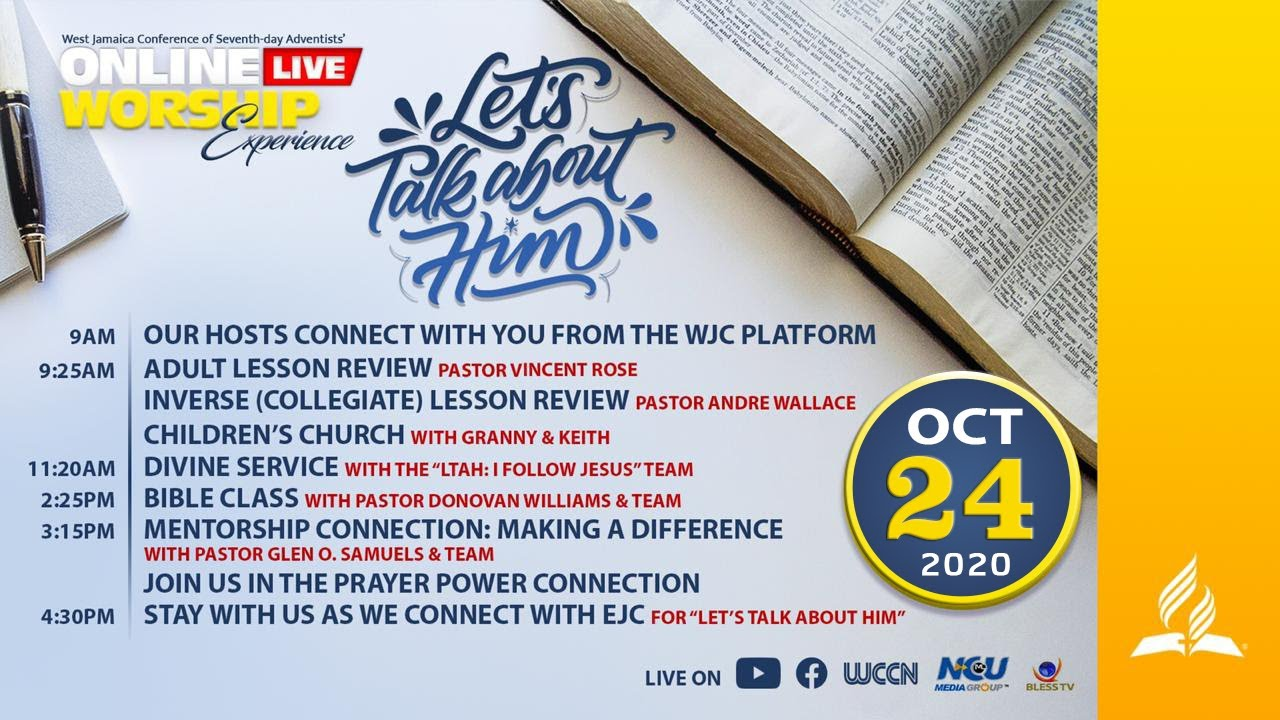 #LTAH Digital Evangelistic Campaign || Online Worship Experience [PM] || Sabbath, October 24, 2020