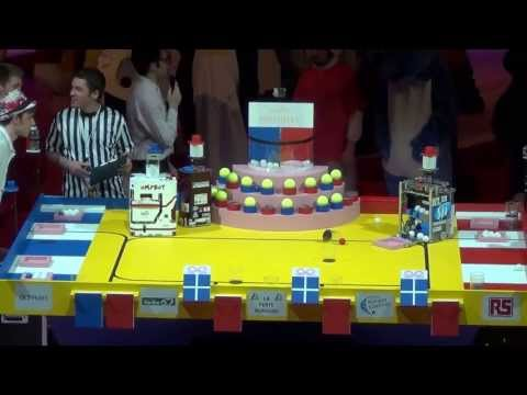 2013 - ESEO Team vs OMYBOT - Coupe de France de robotique 2013