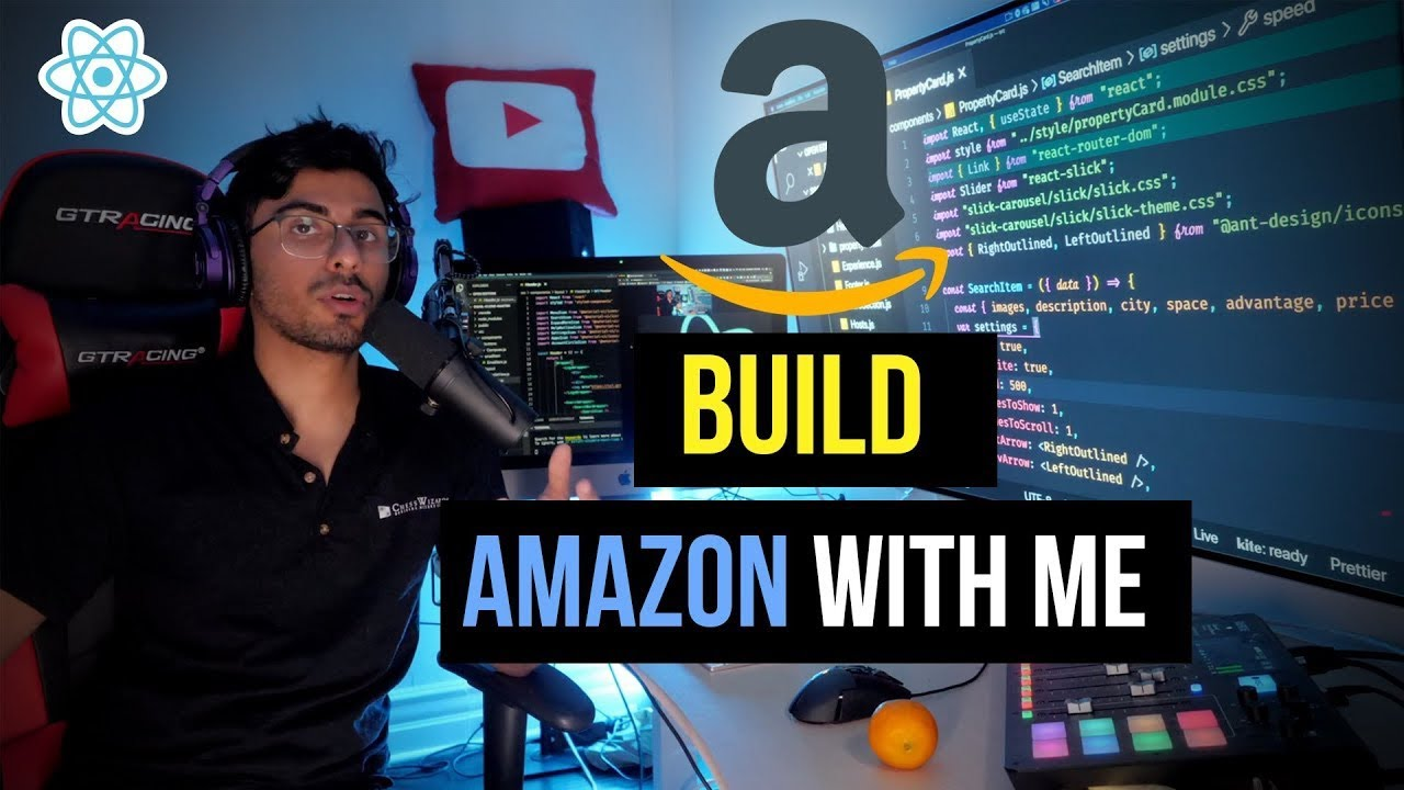Build Amazon Clone from Scratch with React JS & Styled Components (Day 3 of React JS Challenge)