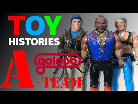 History of A-Team Toys: Vintage Galoob Action Figure Review