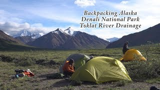 Backpacking Alaska: Denali National Park/Toklat River Drainage/Glaciers/Grizzly Bears/Caribou