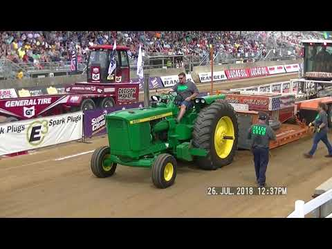 18,000LB FARM STOCK TRACTORS ELKHART COUNTY, INDIANA FAIR 2018
