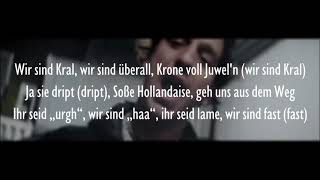 Wir sind Kral - Ezhel & Ufo361 (Official HQ Lyrics) (Text)