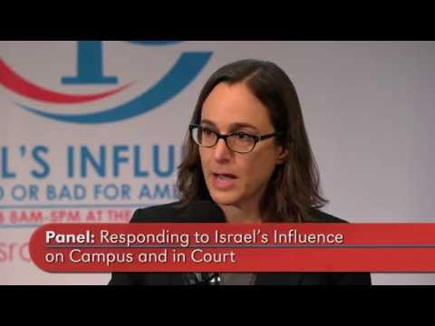 """""""Concerted attempts to silence criticism of Israel in the U.S""""  Maria LaHood"""