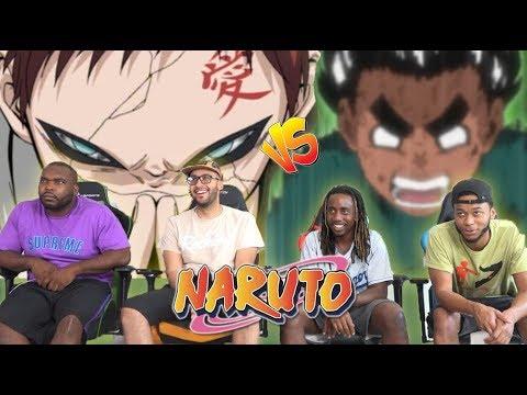 Gaara vs Rock Lee Naruto 47 48 49 & 50 REACTIONREVIEW