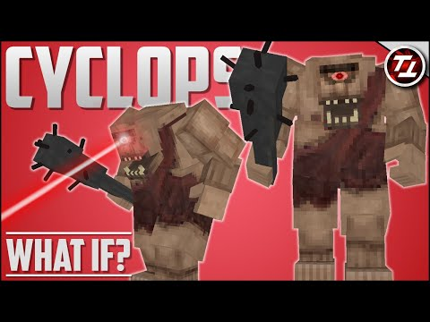 What If Minecraft Had A Cyclops?!