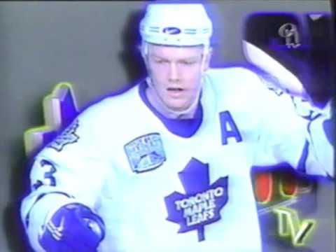 Retro Toronto Maple Leafs game intro