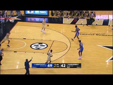 MBB: Kentucky 74, Vanderbilt 67