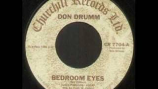"Don Drumm ""Bedroom Eyes"""