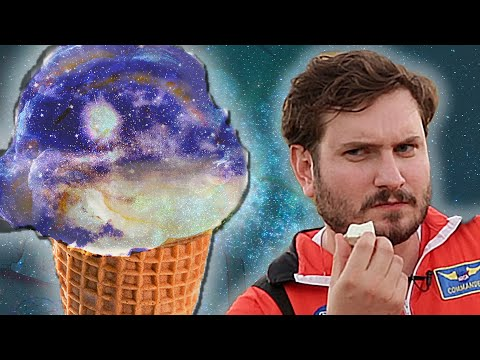We Tried Astronaut Ice Cream At NASA