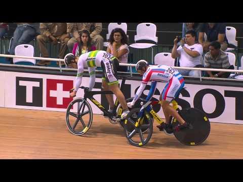 Mens Sprint Bronze - 2014 UCI Track Worlds
