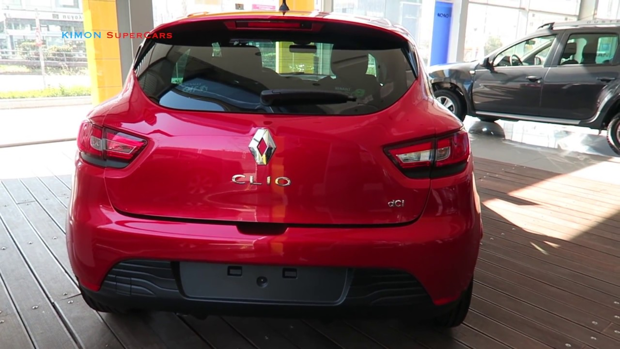 Renault Clio 2017 >> New 2017 Renault Clio Exterior And Interior