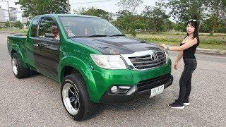 รถหล่อ-คนขับสวย-vigo-prerunner-จัดทรงแคระ-นู๋หยก-ยีราฟซิ่งไทยแลนด์-รถซิ่งไทยแลนด์