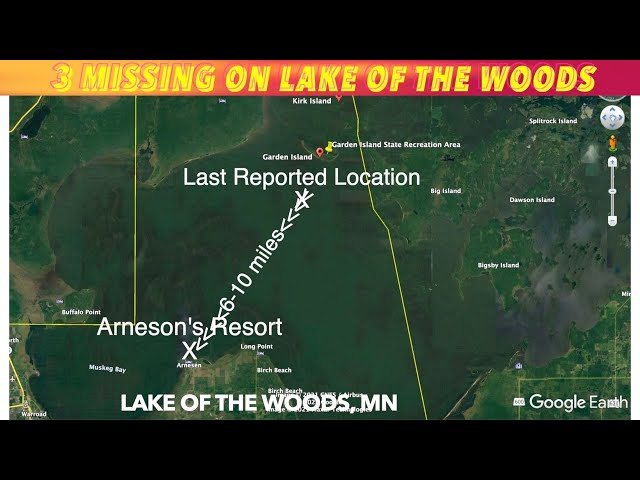 Report Of 3 Missing On Lake Of The Woods Thursday Morning