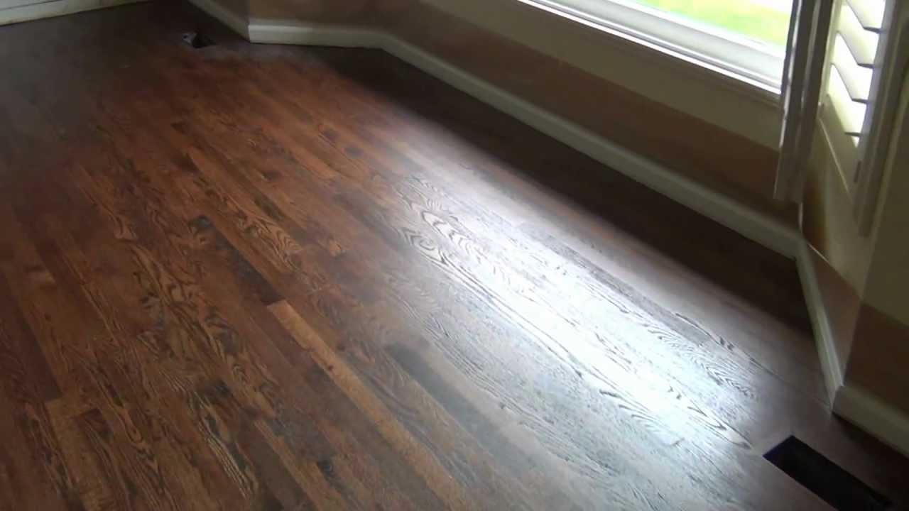 Nw Professional Haedwood Llc Antique Brown Stain Youtube